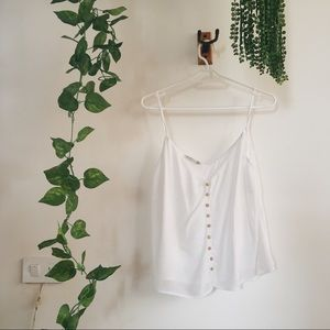 Delicate white blouse